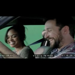OUTTAKE 6 Noah Wyle and Sharon Leal in SHOT singing